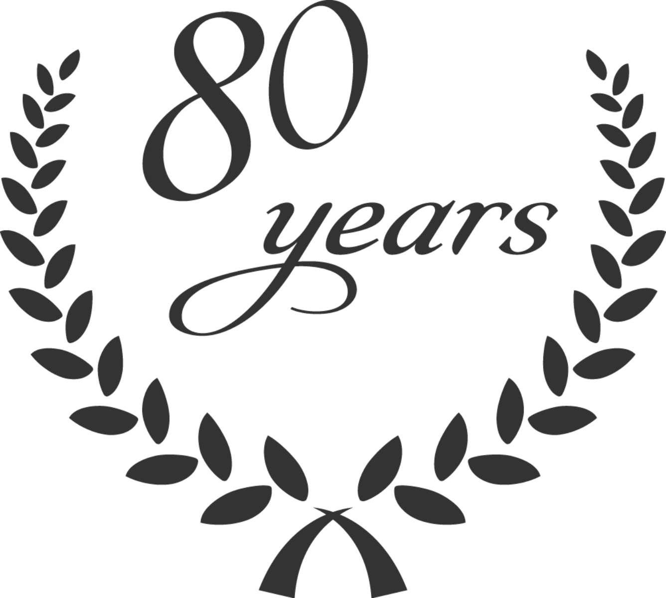 80 Jahre elna Jubiläum